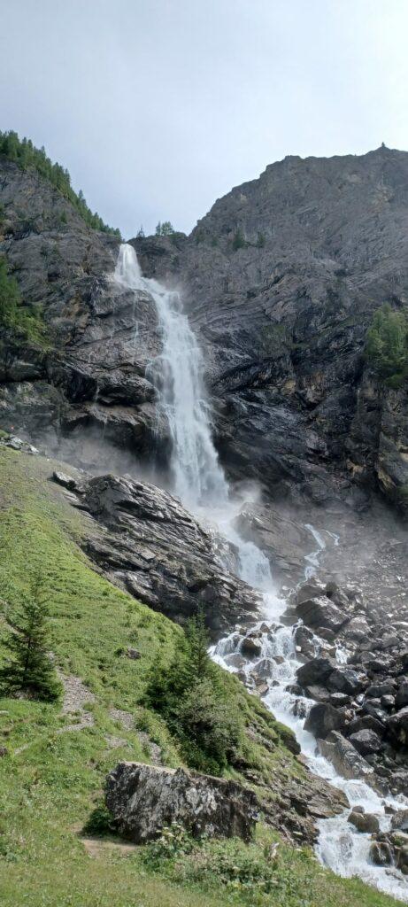rauschende Engstligen-Wasserfälle - 09.08.2021
