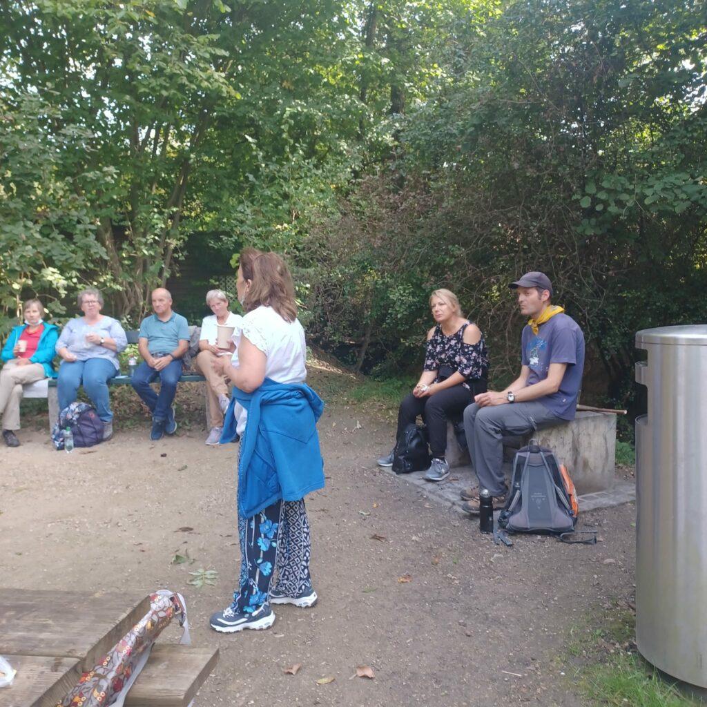 Ruth stellt den Wenkenpark vor..... - 25.09.2021