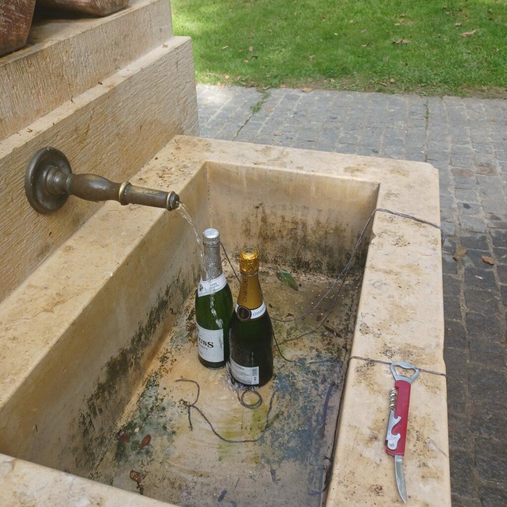 Der Champagner wird kühl gestellt - 25.09.2021