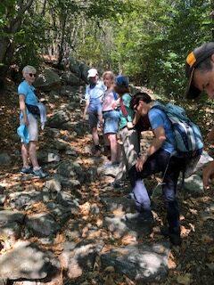 Aufstieg zum Grotto Ritrovo - 11.09.2021