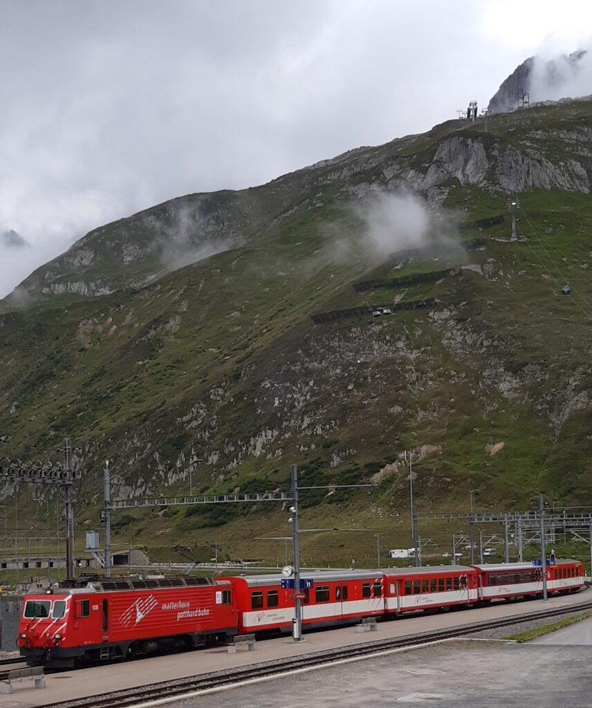 Matterhorn-Gotthardbahn - 22.08.2021