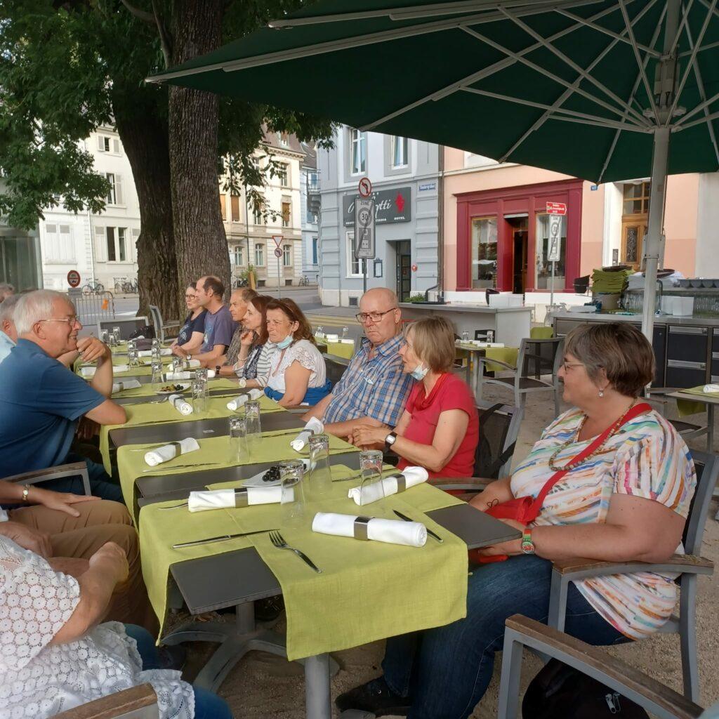 Abendessen in der Resslyritti in Basel - 25.09.2021