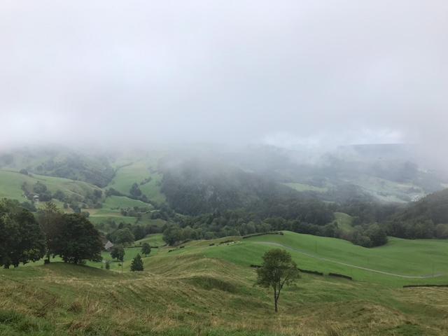 Nebel am Passwang - 29.08.2021