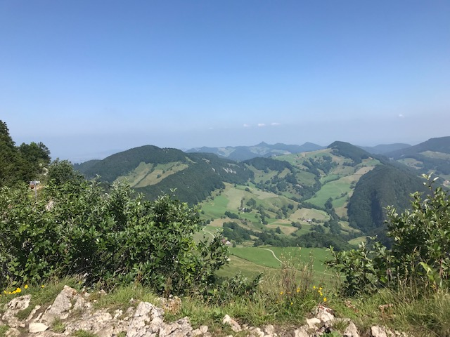 wunderschöne Aussicht am Passwang - Chellenchöpfli - 20.07.2021