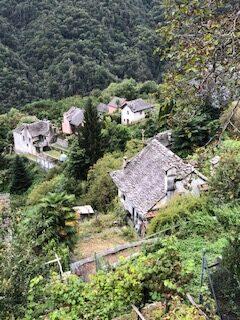 Häusergruppe in Loco im Onsernonetal - 20.09.2021