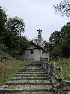 Bergkirche oberhalb Berzola - 20.09.2021