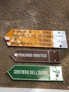Auf dem Olivenweg Richtung Gandria - 21.09.2021