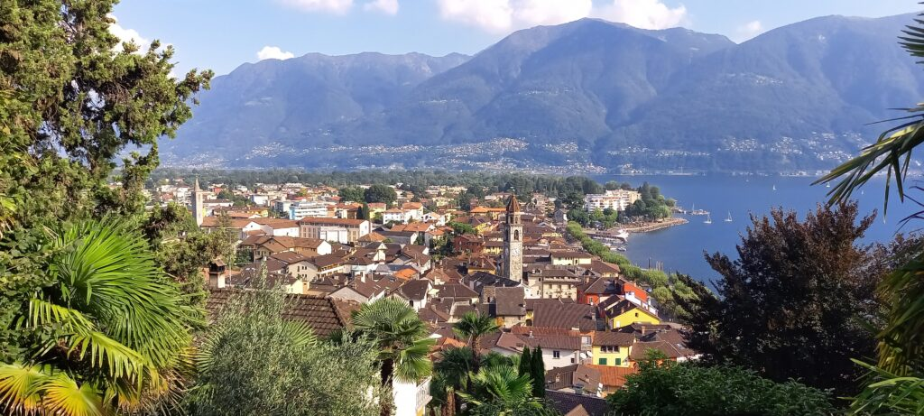Blick auf Ascona 12.09.2021