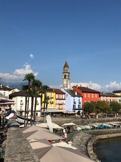 Uferpromenade in Ascona 12.09.2021