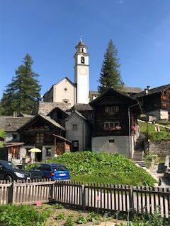 Kirche in Bosco Gurin 13.09.2021