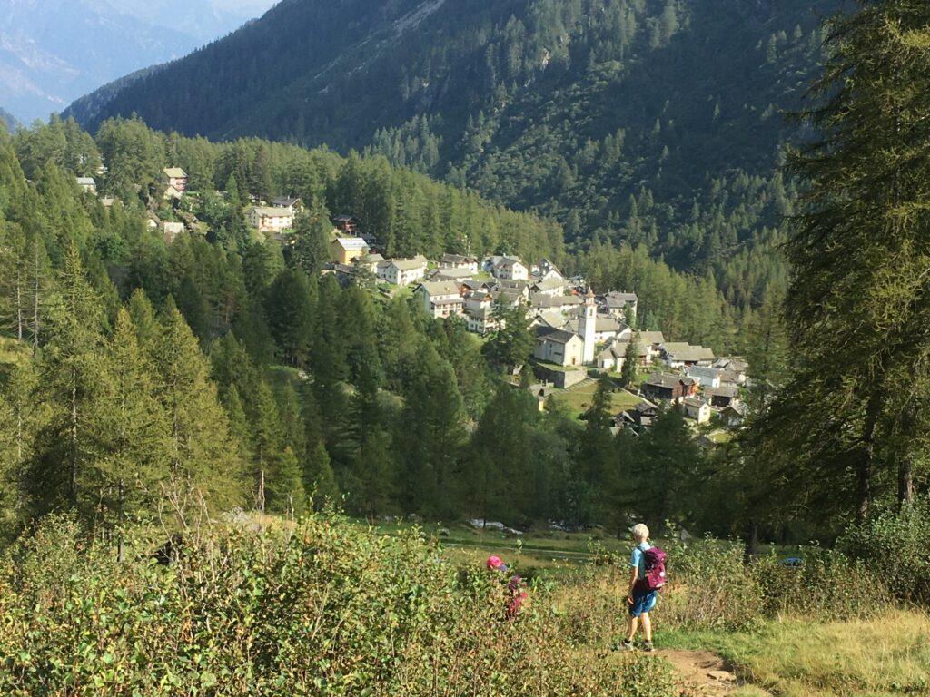 Abstieg nach Bosco Gurin 13.09.2021