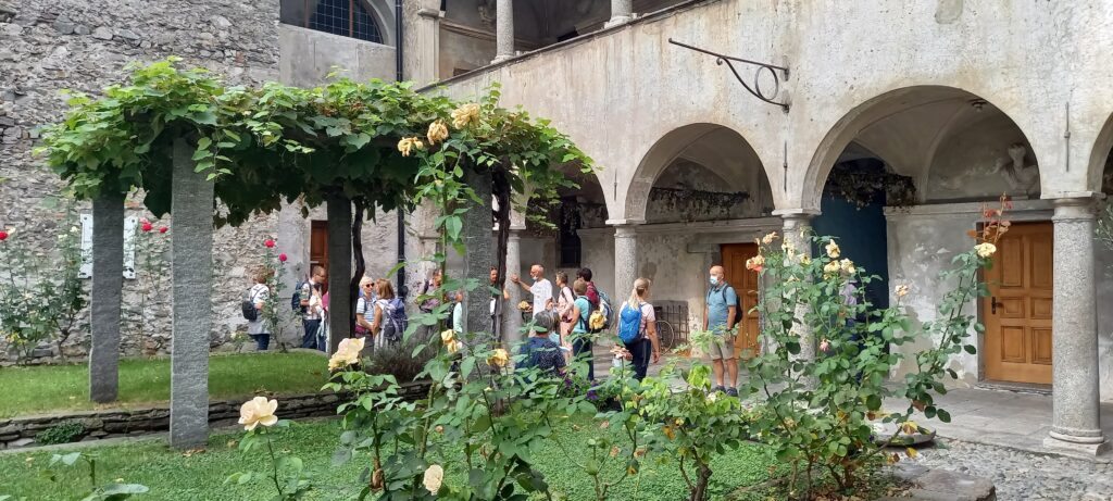 Innenhof in Locarno - 14.09.2021