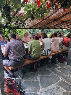 ..... im Grotto Pedemonte in Verscio - 14.09.2021