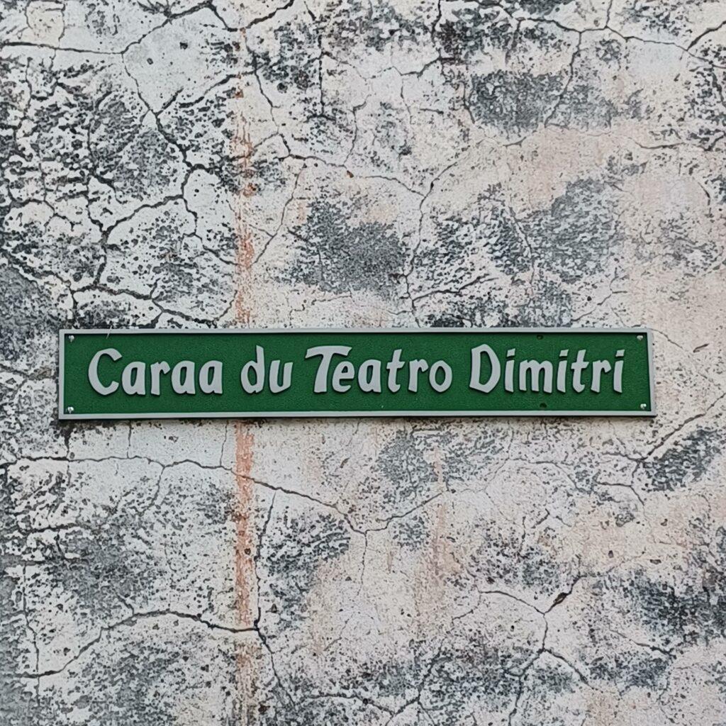 Strasse Teatro Dimitri -14.09.2021