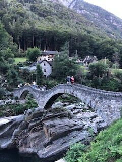 Römerbrücke in Lavertezzo 17.09.2021