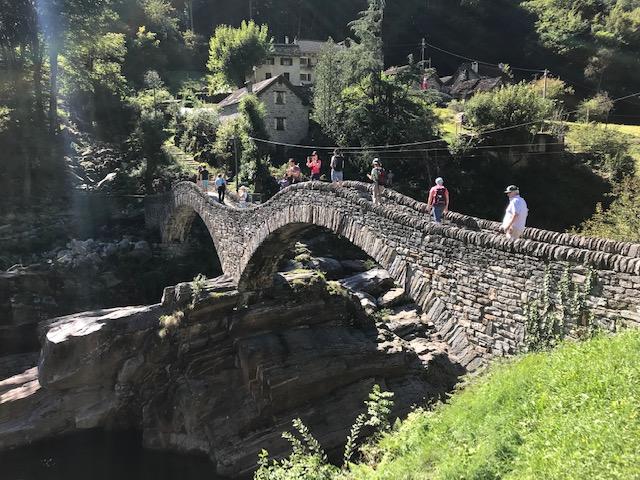 Überquerung der Römerbrücke - 17.09.2021