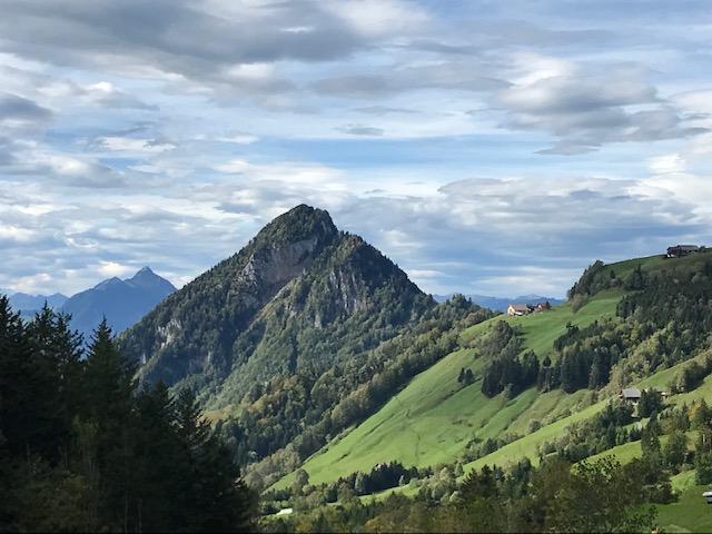 föhnige Bergsichten  - 03.10.2021