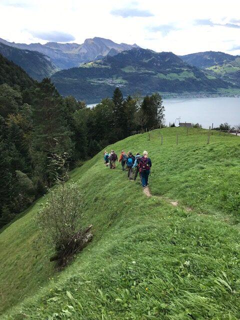 Richtung Vierwaldstättersee nach Gersau - 03.10.2021